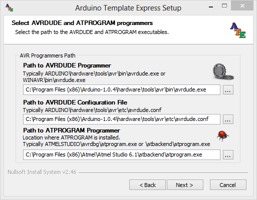 Arduino Template Express for Atmel Studio 61 AVR